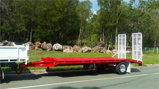 2019 FWR 9T HD Single Axle Tag Trailer - Trailers for Sale