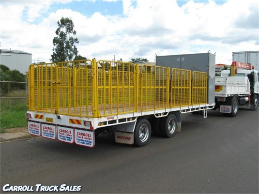 2012 Moore Tandem Tag Trailer - Trailers for Sale