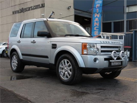 2009 Land Rover Discovery 3 Vehicle Light Commercial For Sale