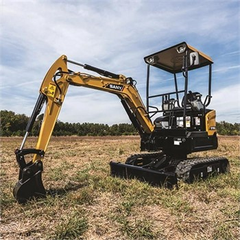 SANY Mini Excavators Are The Right Tool For The Job