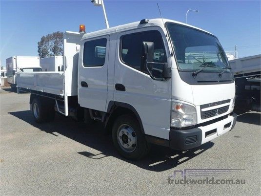 2009 Fuso Canter FE85D Crew Cab Dual Cab truck for sale ...