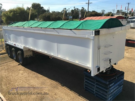 1999 Homemade Alloy Toa Tipper - Trailers for Sale