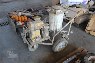 WALK BEHINE PAINT MACHINE Other Auction Results - 1 Listings