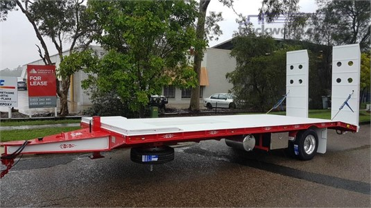 2019 FWR Single Axle Tag Trailer - All Hydraulic Trailers for Sale