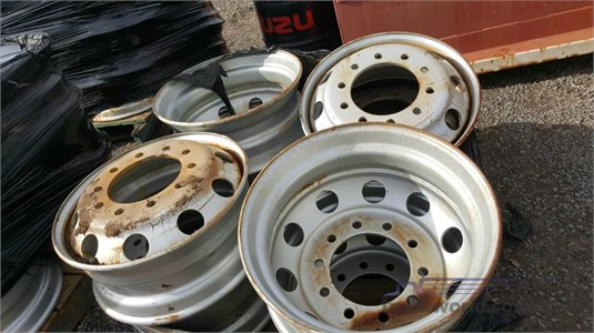 0 Unknown 22.5 Inch Steel Wheels - Truckworld.com.au - Parts & Accessories for Sale