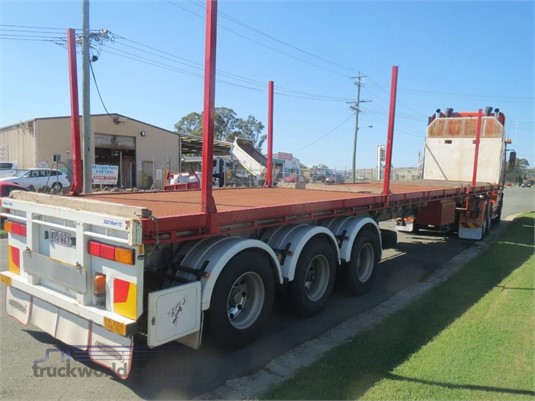 2008 Southern Cross Extendable Flat Top - Trailers for Sale