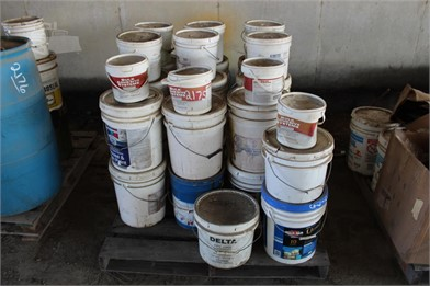 PALLET OF PAINT & EPOXY Other Items Auction Results - 1 Listings