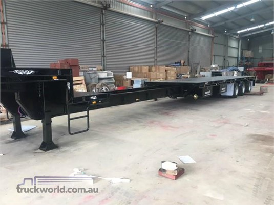 2018 Freightmore Transport Drop Deck Extendable Trailer - Trailers for Sale