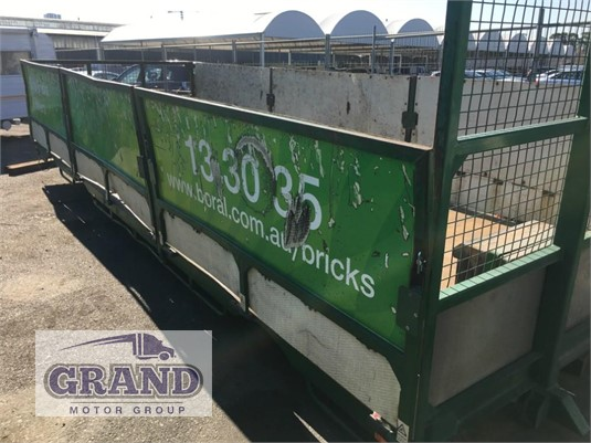 2007 Unknown Steel Table Top Grand Motor Group - Truck Bodies for Sale