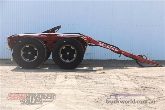2007 Transport Spares and Equipment Dolly Trailers for Sale