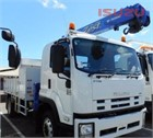 2010 Isuzu FTR 900 Crane Truck