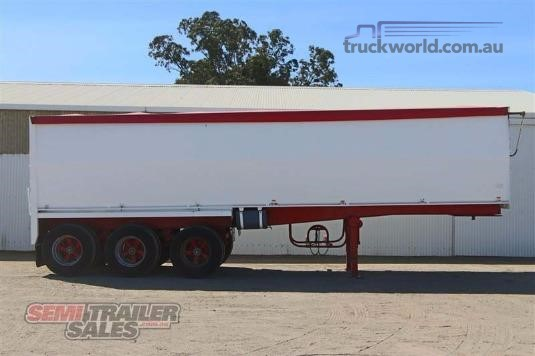 2008 Hold Bros 30ft Chassis Tipper Trailers for Sale