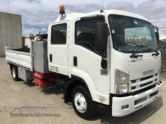 2008 Isuzu FRR 600 Crew - Truckworld.com.au - Trucks for Sale