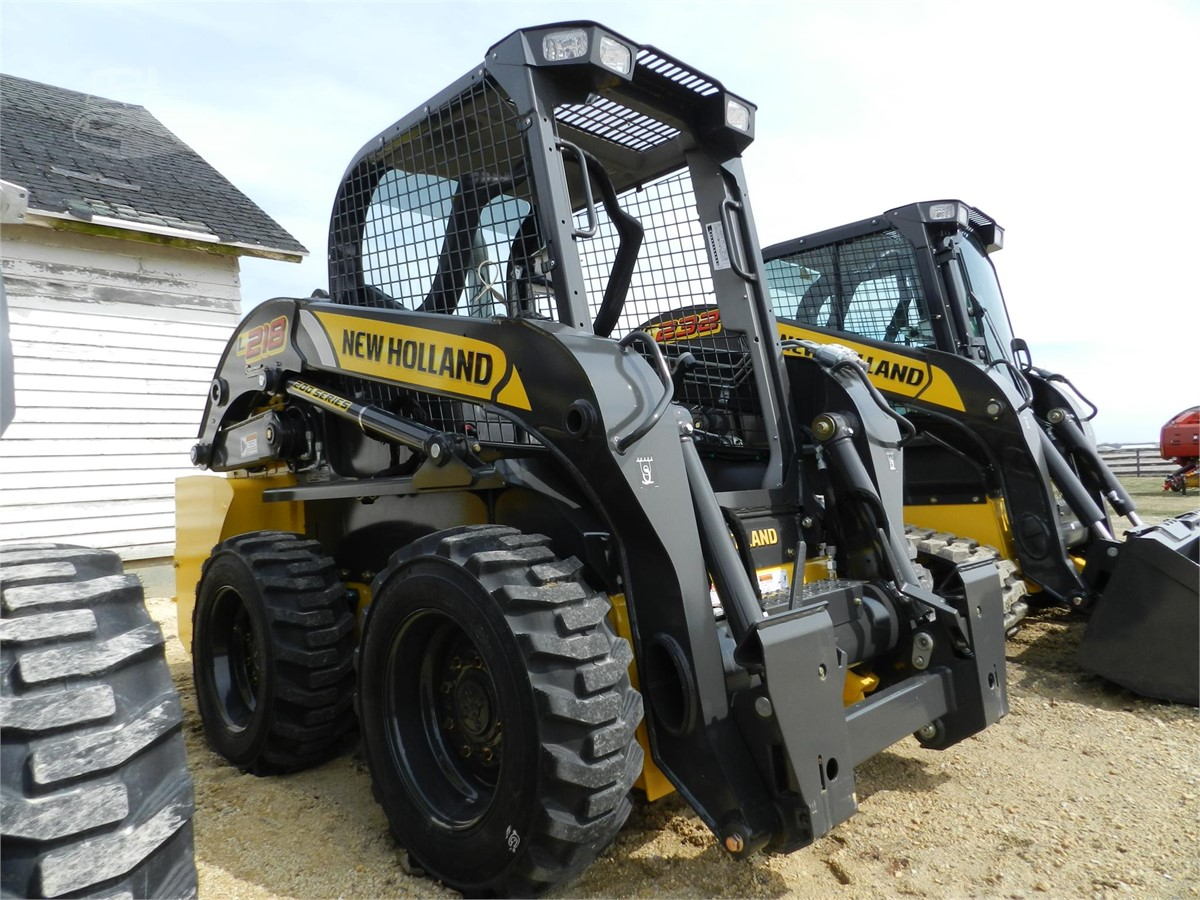 2017 NEW HOLLAND L218 For Sale In Sycamore, Illinois   www