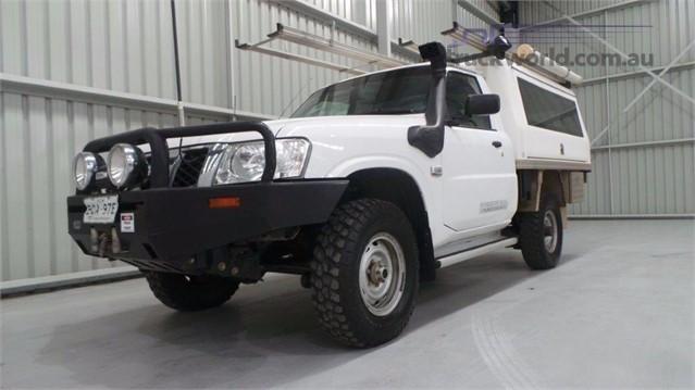 2012 Nissan Patrol Y61 GU 6 SII Ute light commercial for