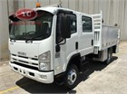 2009 Isuzu NPS 300 4x4 Crew Service Vehicle
