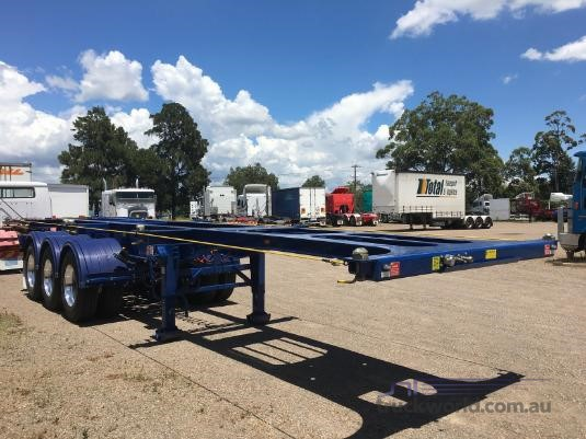 2019 Howard Porter Skeletal Trailer Trailers for Sale