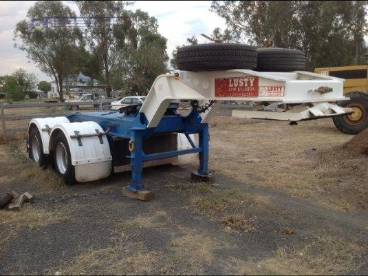 2012 Lusty Low Loader Semi Trailer - Trailers for Sale