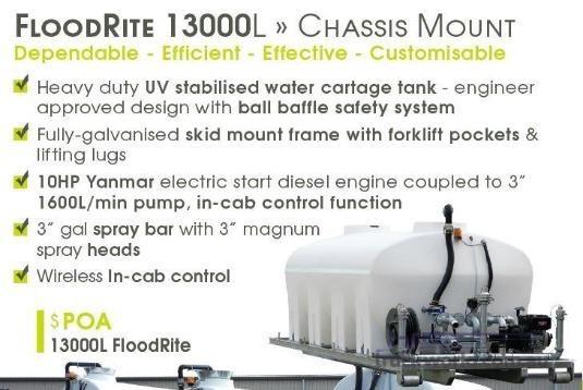 2017 Transtank Water Tank Trailers for Sale