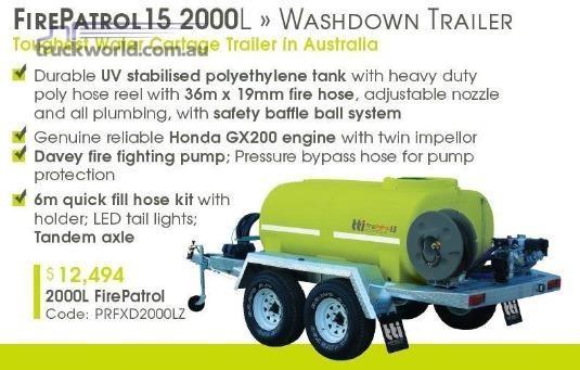 2017 Transtank Water Tank - Truckworld.com.au - Trailers for Sale
