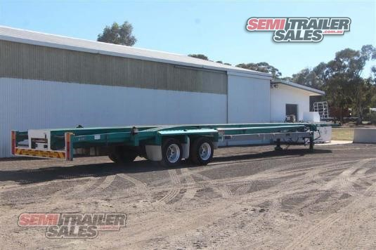 2005 Barker Skeletal Trailer Semi Trailer Sales - Trailers for Sale