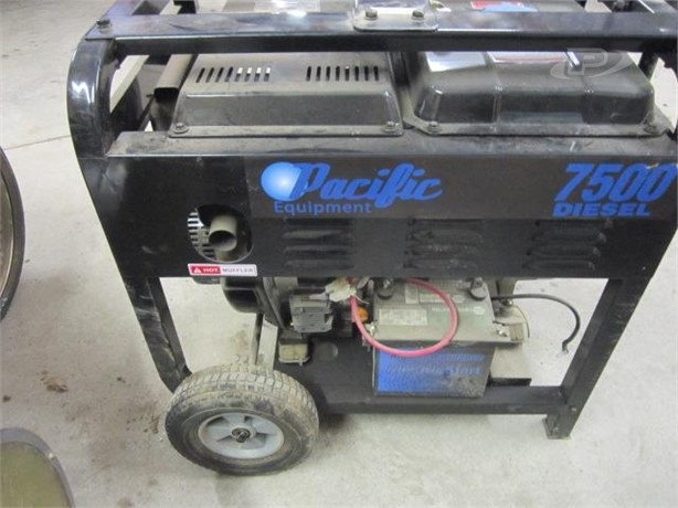 PACIFIC Generators Auction Results - 5 Listings