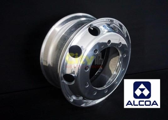 0 Alcoa 9.00x22.5 Polished Steer Alloy 10/335 - Parts & Accessories for Sale