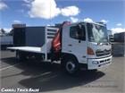 Hino 500 Series 1527 XLong 4x2|Crane Truck|Table / Tray Top
