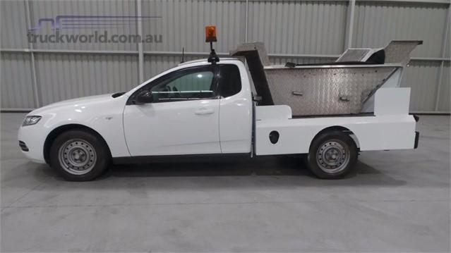 2012 Ford Falcon FG MK2 LPG Tipper Ute light commercial for