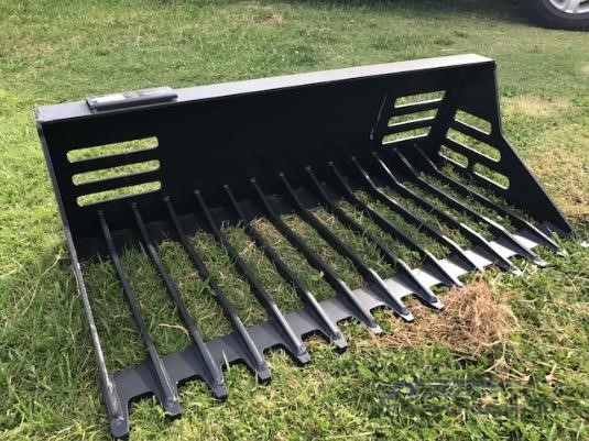 0 Barrett Skid Steer Rake Bucket - Parts & Accessories for Sale