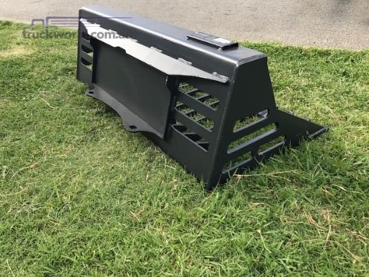 Barrett Skid Steer Rake Bucket - Truckworld.com.au - Parts & Accessories for Sale