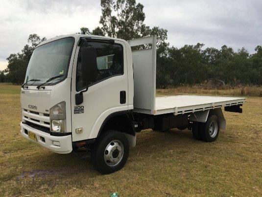 2009 Isuzu NPS 300 4x4 - Truckworld.com.au - Trucks for Sale