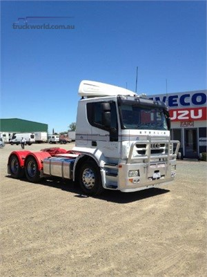 2011 Iveco Stralis ATi460 Taig Bros - Trucks for Sale