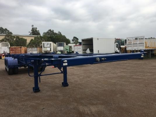 2020 Howard Porter Skeletal Trailer - Trailers for Sale