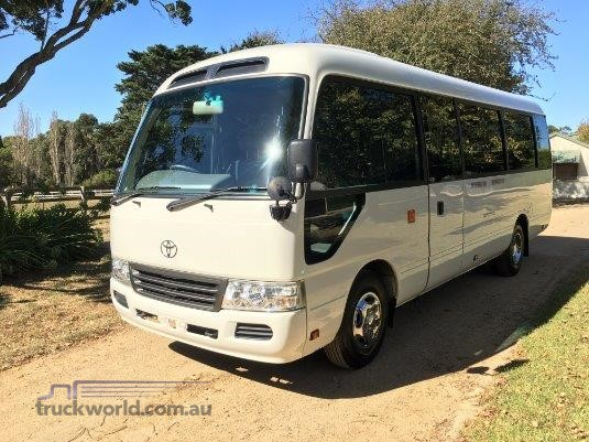 2014 Toyota Coaster Deluxe - Truckworld.com.au - Buses for Sale
