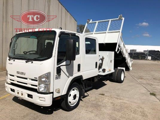 2008 Isuzu NQR 450 Crew Truck City - Trucks for Sale