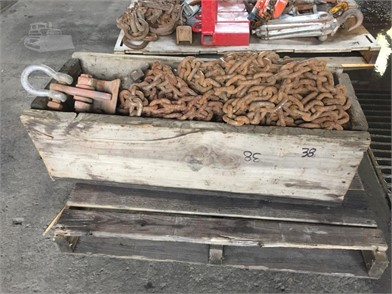 CHAINS W/HOOKS PALLET LOT Other Auction Results - 1 Listings