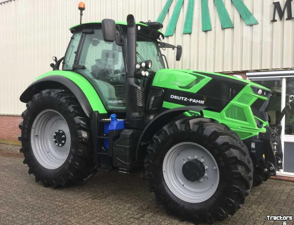 Grammer Luchtgeveerde Stoel : Used 2017 deutz fahr agrotron 6215 for sale in assen the