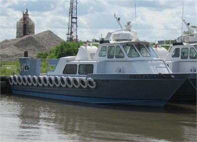 """DELTA EXPRESS"""" 42' INLAND MARINE Other Auction Results - 1"""