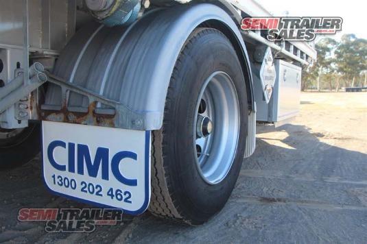 2011 Cimc Flat Top Trailer Semi Trailer Sales - Trailers for Sale