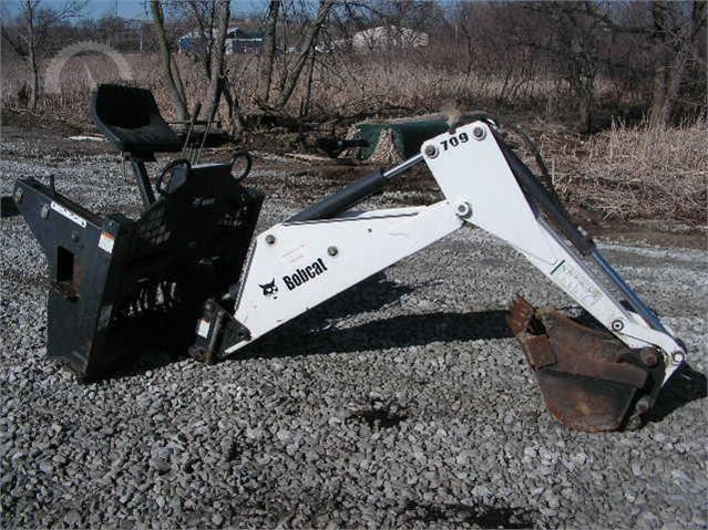 AuctionTime com | 2011 BOBCAT 709 Backhoes Auction Results