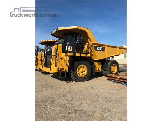 2015 Caterpillar 770G Heavy Machinery for Sale