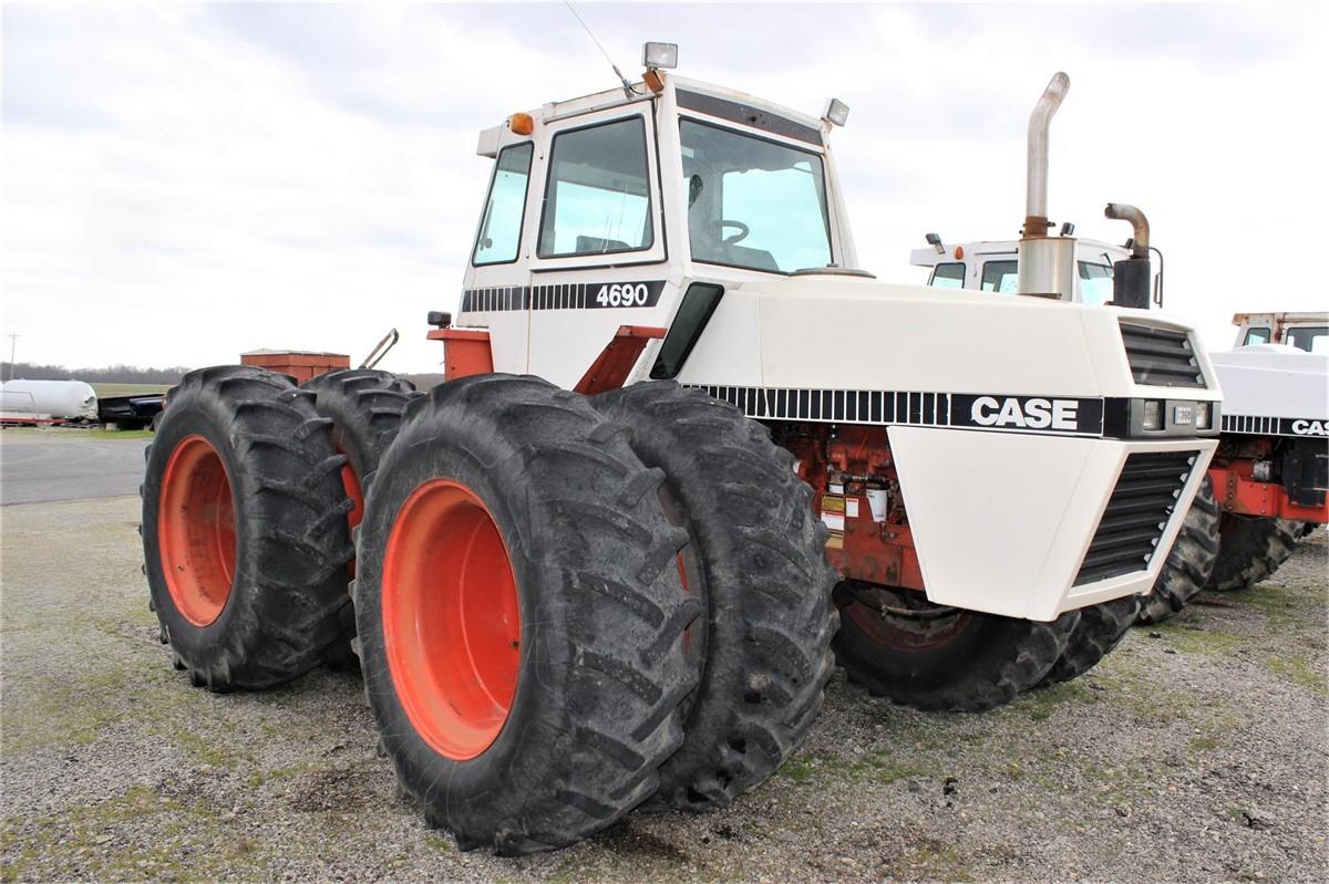 1982 Case Tractors : J i case for sale in lynchburg ohio