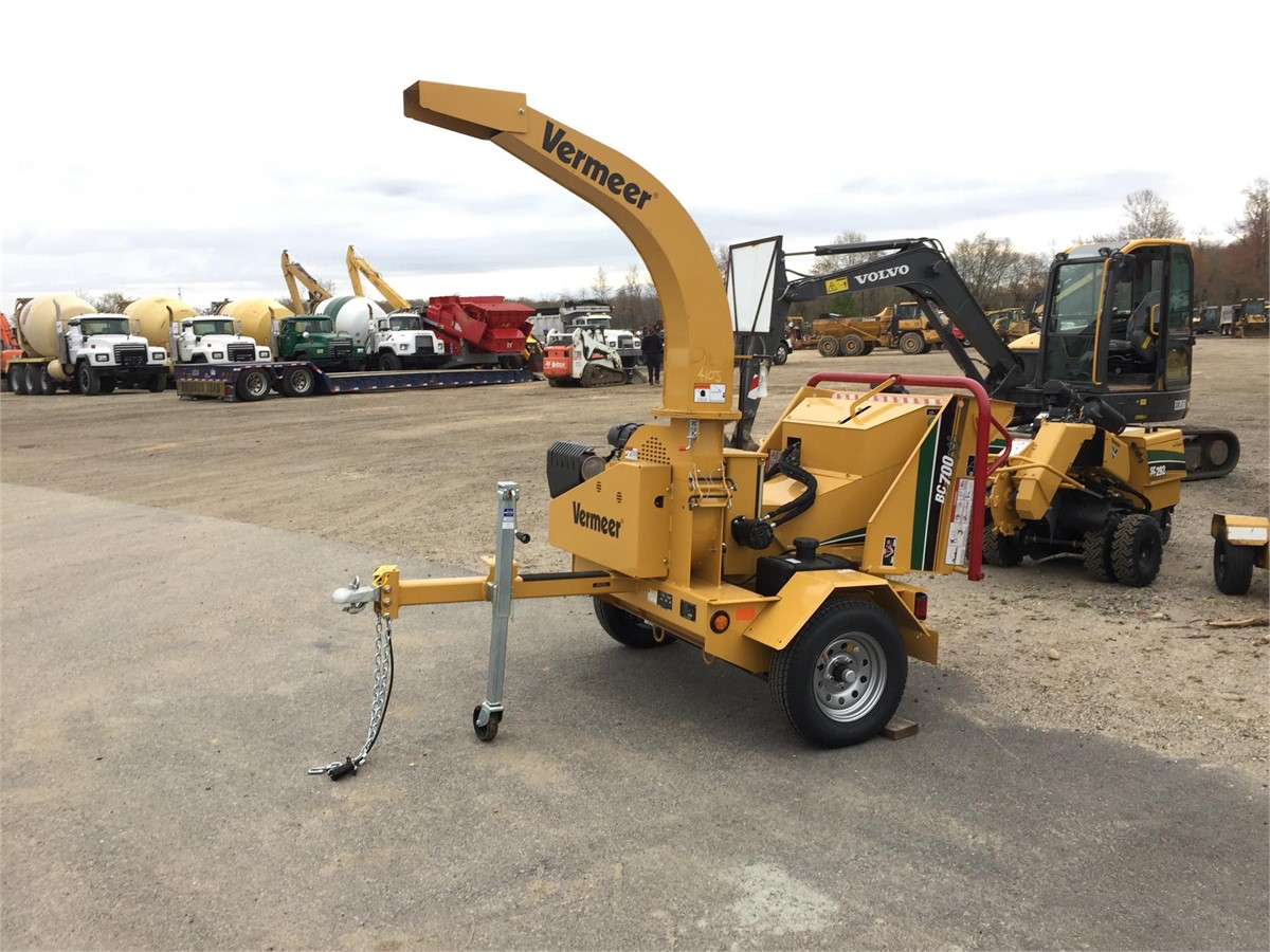 2018 VERMEER BC700XL For Sale In Brandywine, Maryland