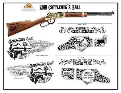 HENRY GOLDEN BOY 22 CAL  RIFLE-CUSTOM ENGRAVED DOUG & CINDY LOTTMAN