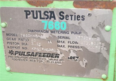 PULSA 7660 Auction Results - 1 Listings | MachineryTrader