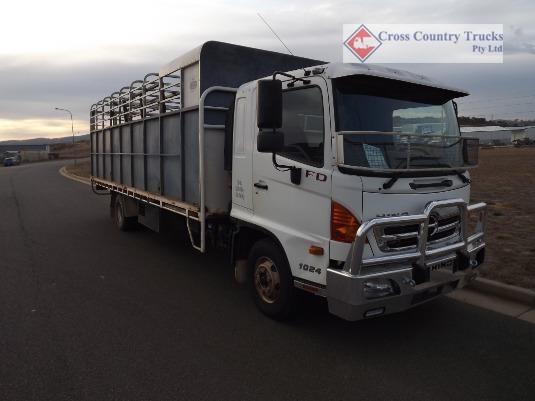 2010 Hino 1024 FD Cross Country Trucks Pty Ltd - Trucks for Sale
