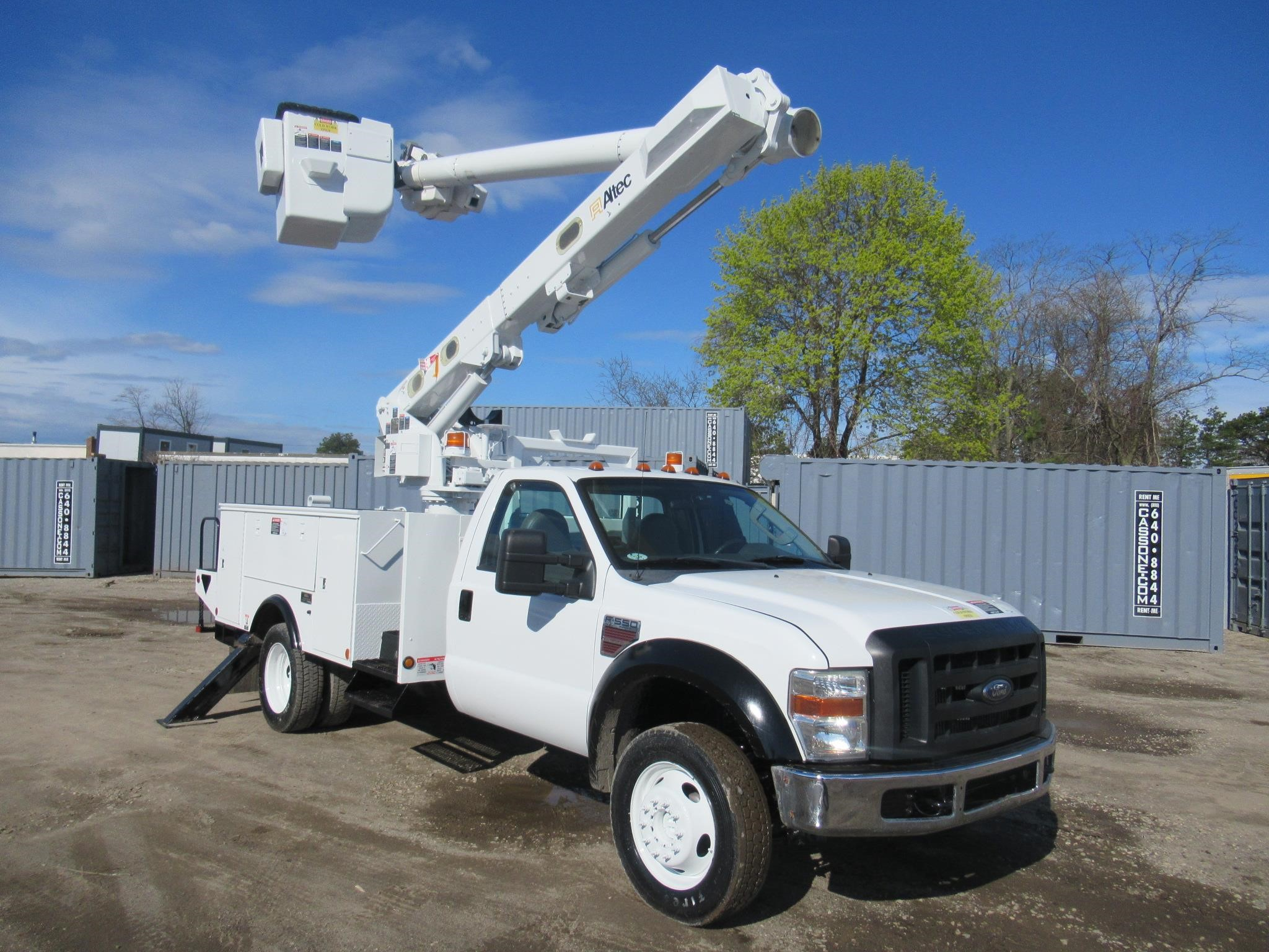 F550 For Sale >> 2008 Altec L37m Mounted On 2008 Ford F550 For Sale In Ronkonkoma New York