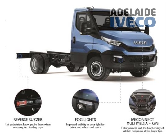 Iveco Daily 70C17 Cab 3750mm
