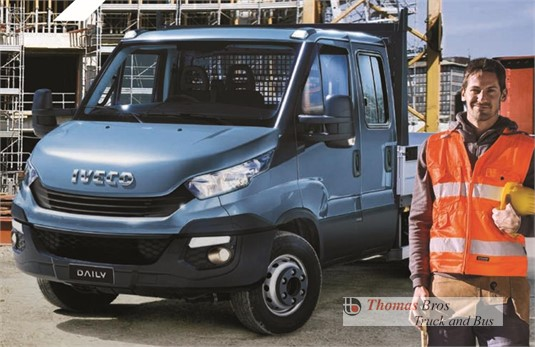 Iveco Daily 50C17 Dual Cab 4350mm